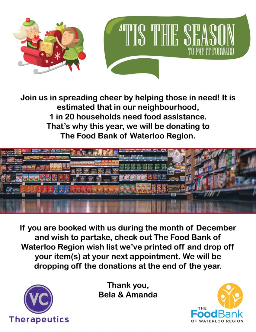 'Tis the Season | Food Bank Donations